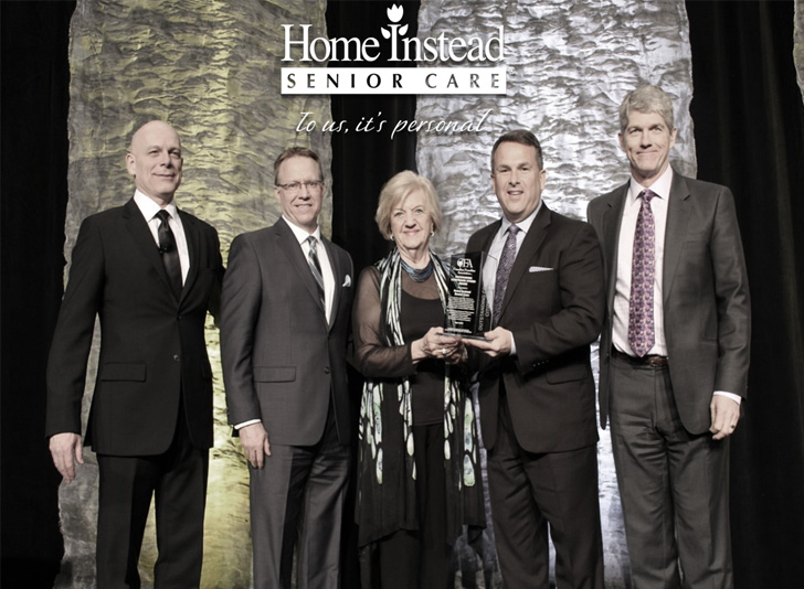 Congratulations Home Instead Senior Care for winning the Canadian Franchise Association's Outstanding Corporate Citizen Award for 2016